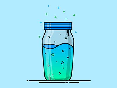 Fortnite Slurp Juice Vector Illustration Drink Bottle Illustrator Illustration Lineart Vector Fortnite Vector Illustration Fortnite Simple Doodles