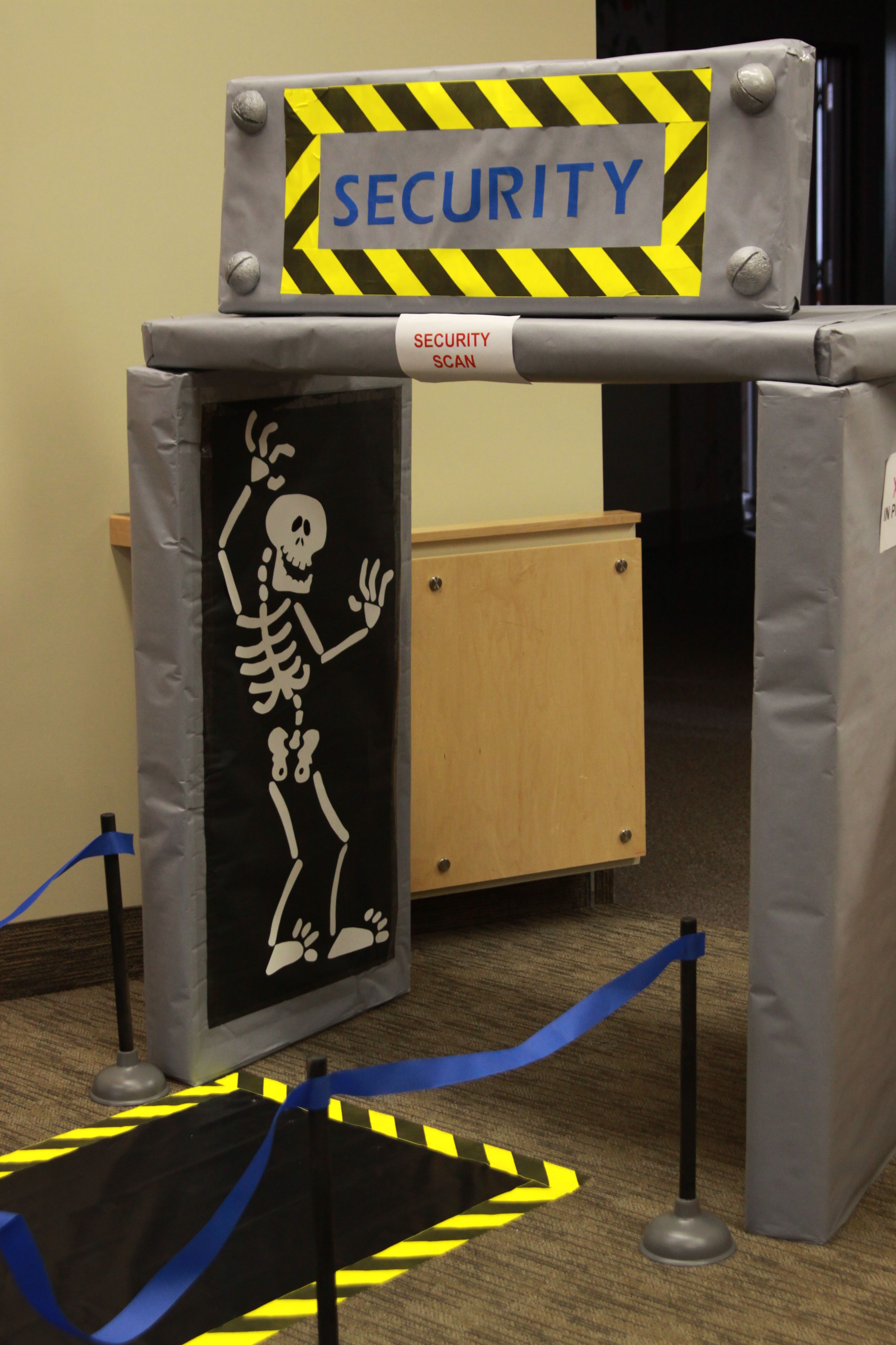 Preschool Entry  Xray Security Scanner  Vbs 2015  Airport theme Dramatic play Dramatic play area
