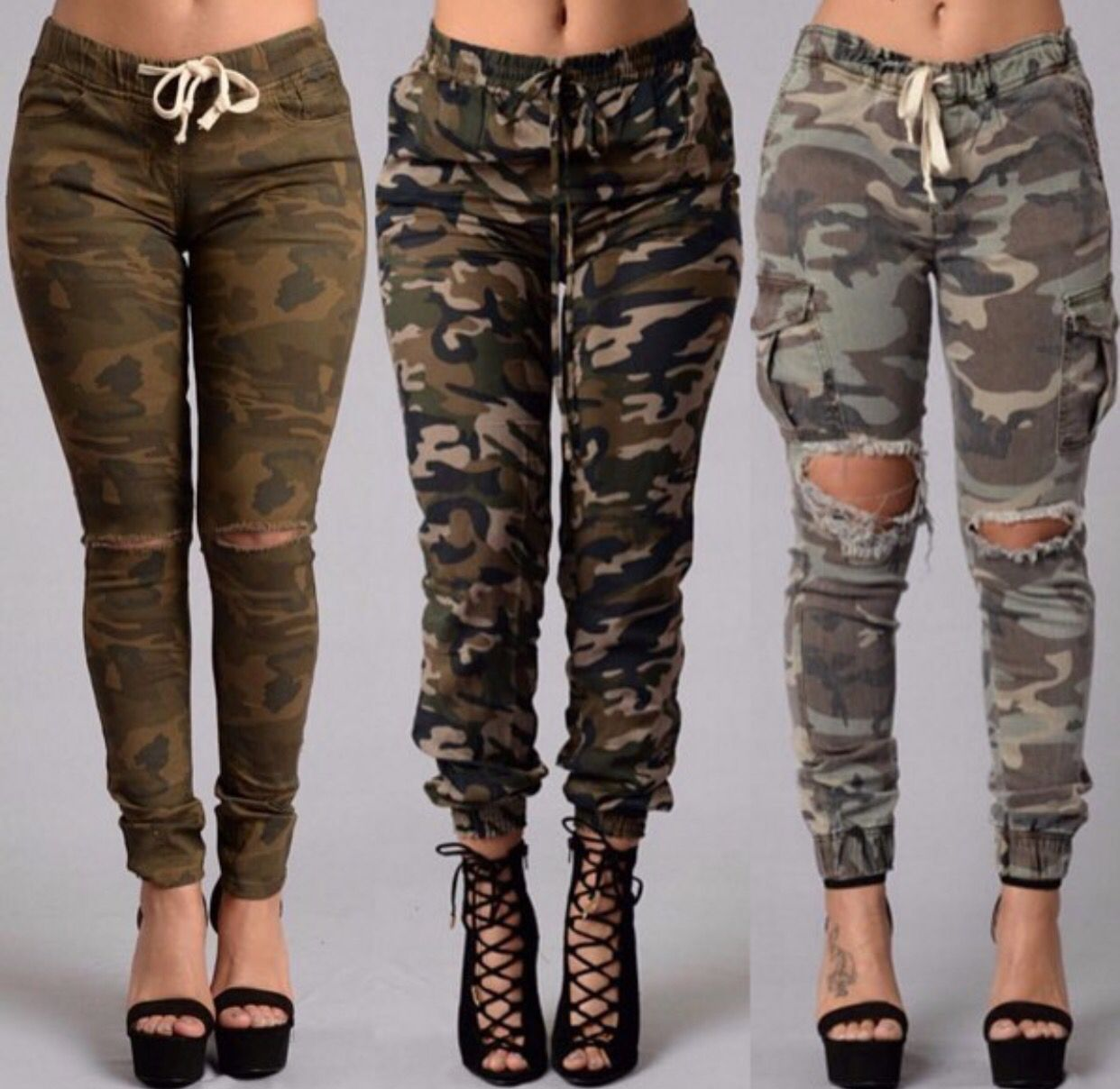 Is it bad that I have a strange attraction/fetish to anyone who wears camo pants...?