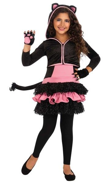 Awesome Costumes Black Kitty Hoodie Child Costume just added - cool halloween costume ideas for guys