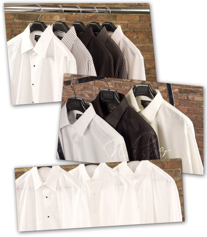 Tip Top Tux | Our Shirts No extra charges for shirts!