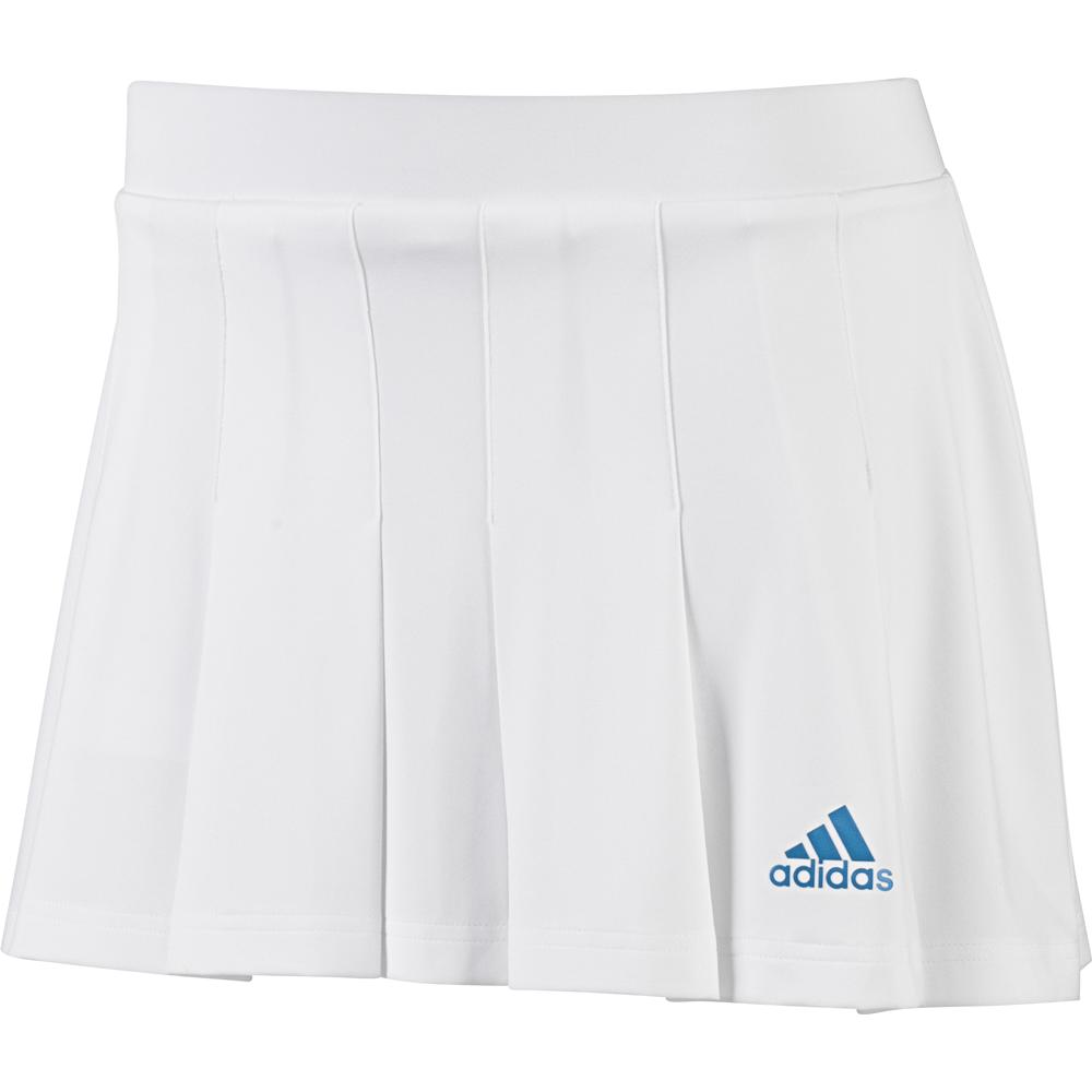 Adidas Pleated White Tennis Skirt White Tennis Skirt Adidas Skirt Tennis Clothes