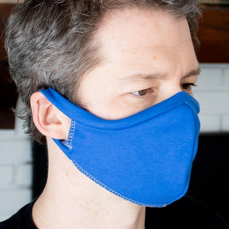 Elastic Free T Shirt Face Mask Sewing Pattern In 2020