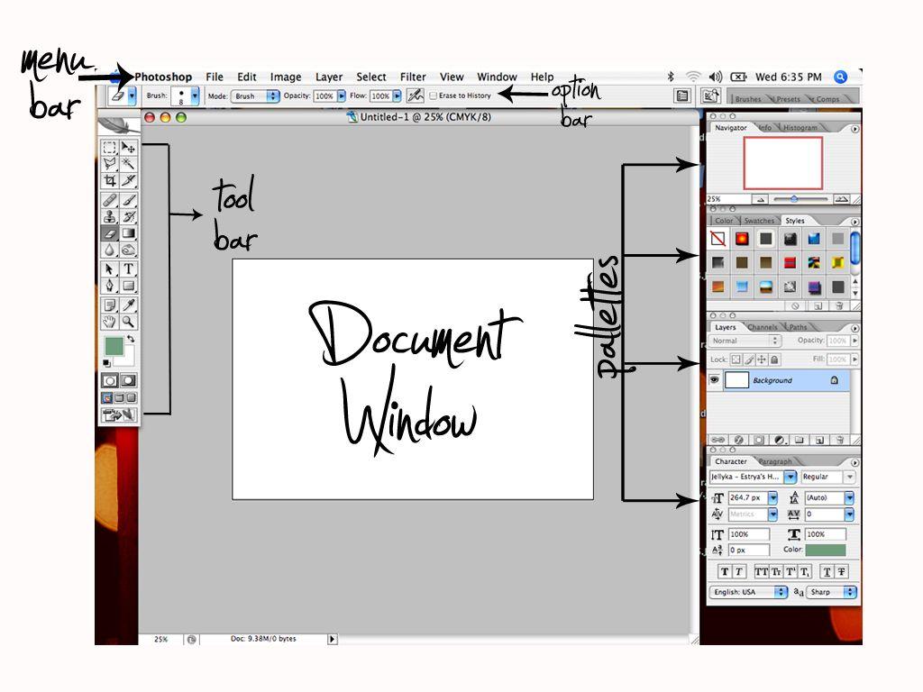 Photoshop Interface Photoshop Basics Photoshop Tutorials Free Learn Photoshop