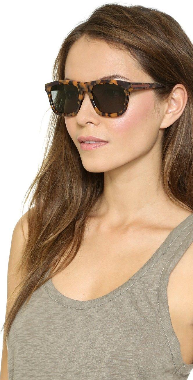 b1daf3142d11 Karen Walker Special Fit Deep Freeze Sunglasses