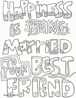 bff color pages to color google search - Friends Quotes Coloring Pages