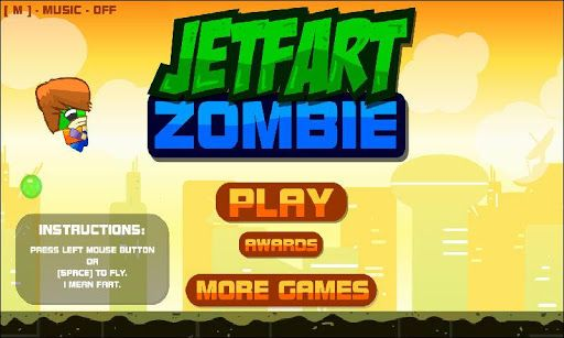 A pair of zombies once argued about whether they can learn to fly. He said that can work for three years three months and three days, but still managed to fly about how he does it, we keep silent. Try to control the flight of a zombie freak, you may even be able to improve his skills.  http://Mobogenie.com