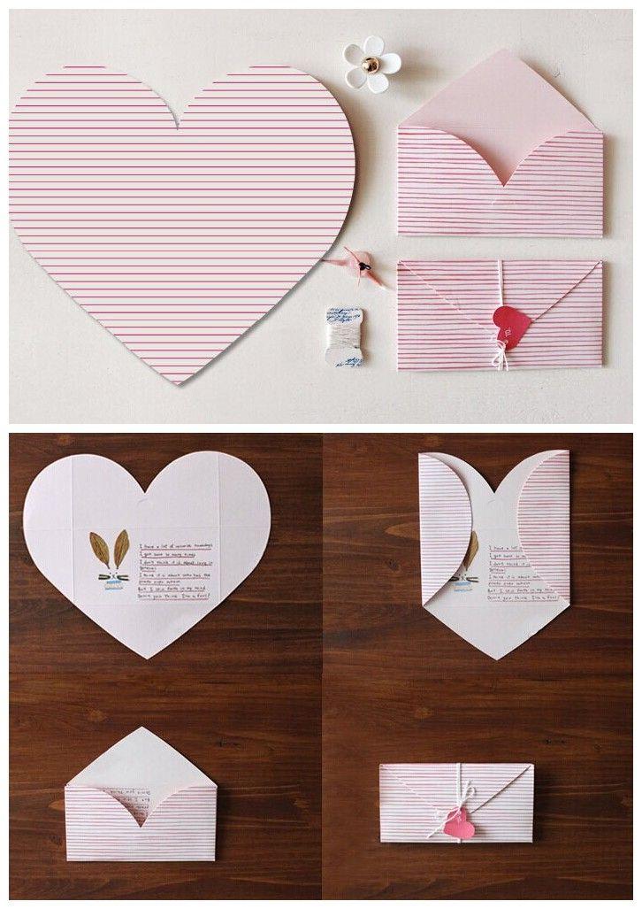Heart shaped card design inspiration