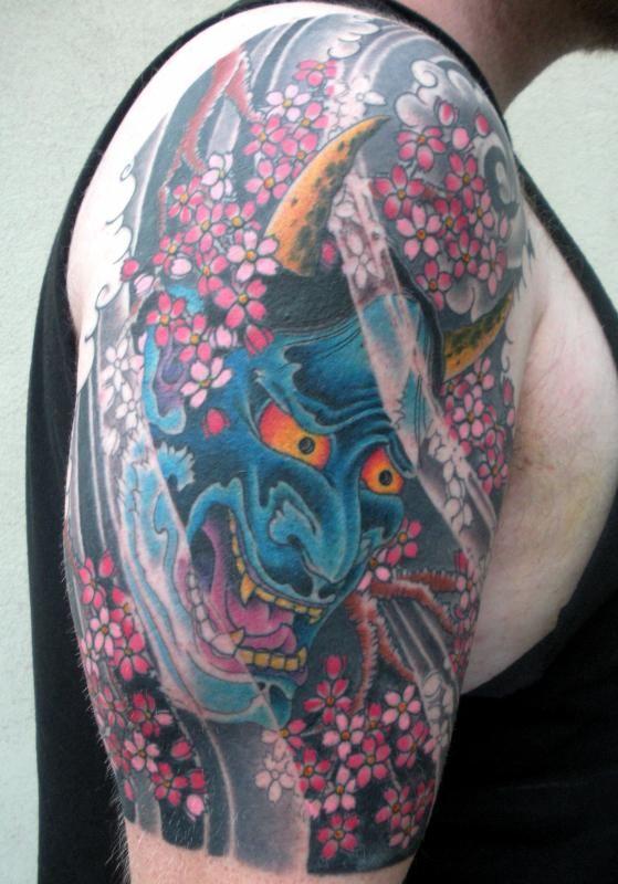 Hannya Mask Girl Tattoo: Hannya Mask Tattoo Back - Google Search
