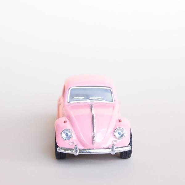 Volkswagen Beetle Pink/Silver (con Imágenes)
