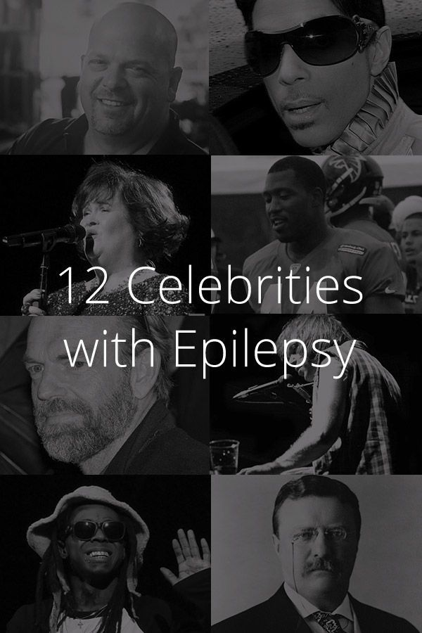 12 Celebrities with Epilepsy (With images) Epilepsy