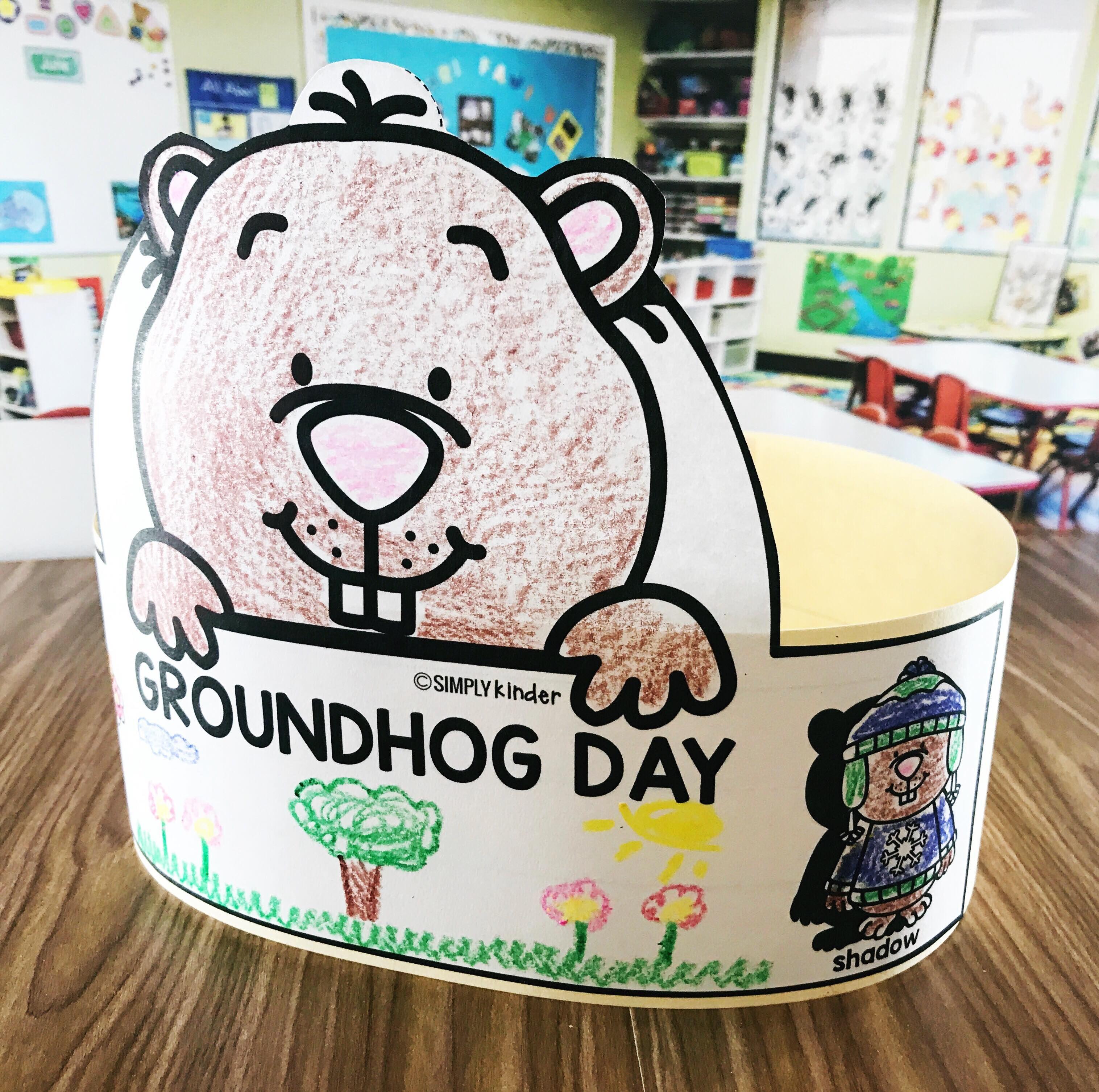 Free Groundhog Day Hat