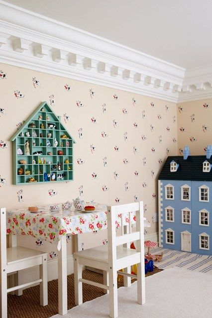 Discover kids' bedroom design ideas on HOUSE - design, food and travel by House & Garden. This playroom isn't where it appears.