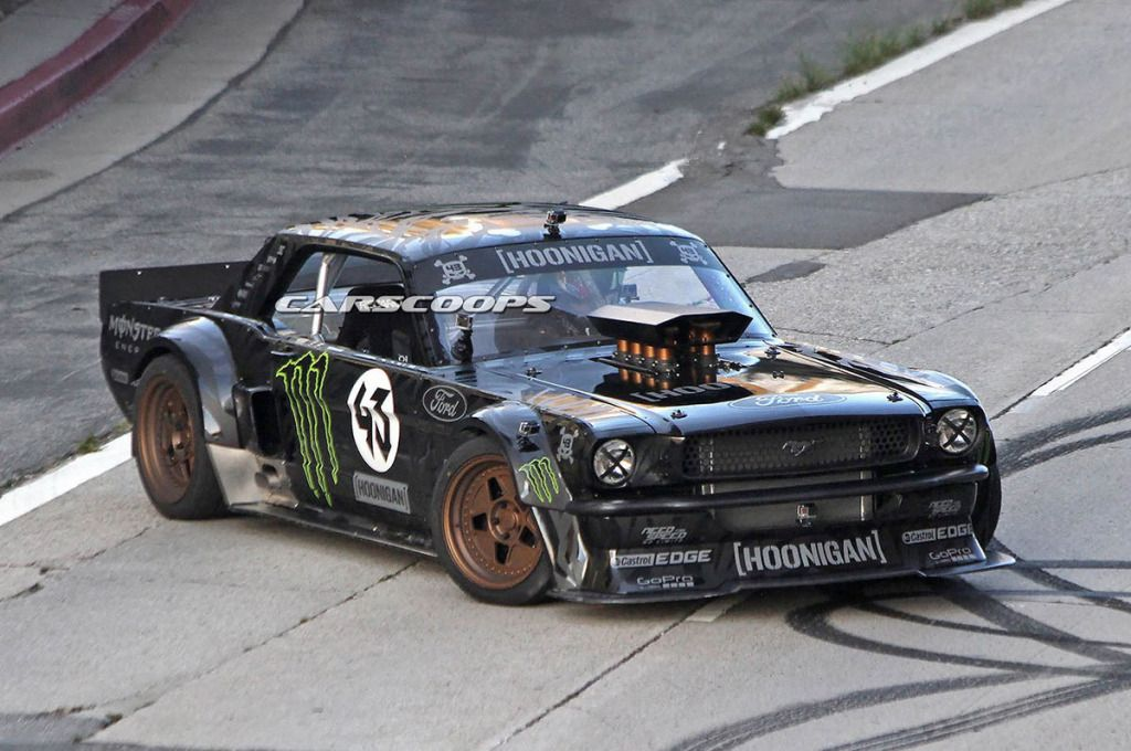 ken block drives a awd first generation ford mustang voiture de reve pinterest voitures. Black Bedroom Furniture Sets. Home Design Ideas