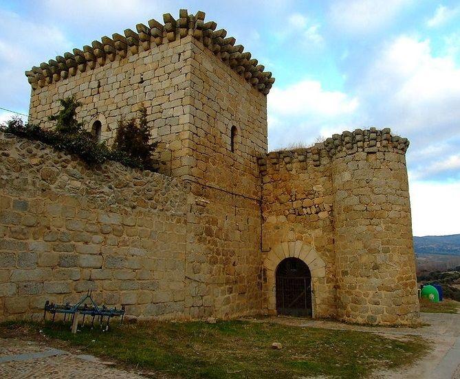 Castillo de Bonilla de la Sierra. Ávila