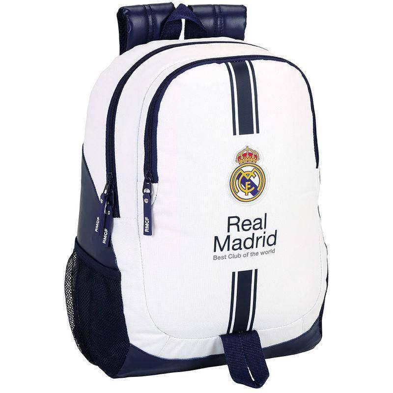 0185d8ff06e Real Madrid Best Club - Rugzak - 44 cm - Wit #voetbal #cadeau ...