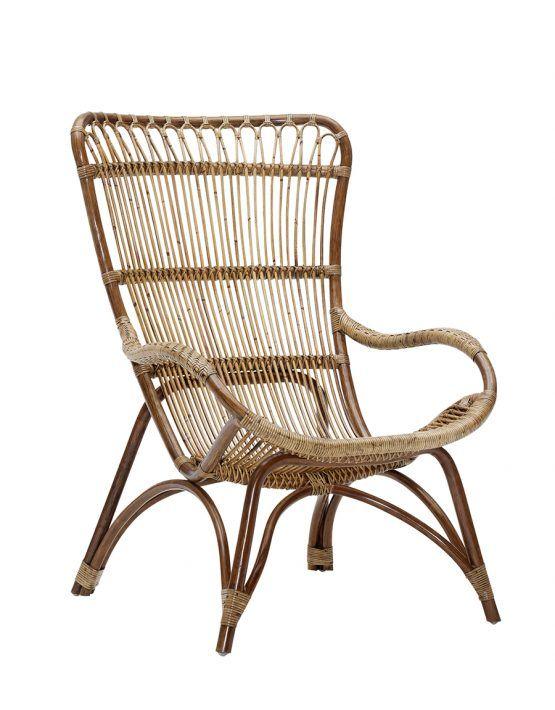 Room F 229 T 246 Lj Monet2 Rattan Lounger High Back Chairs