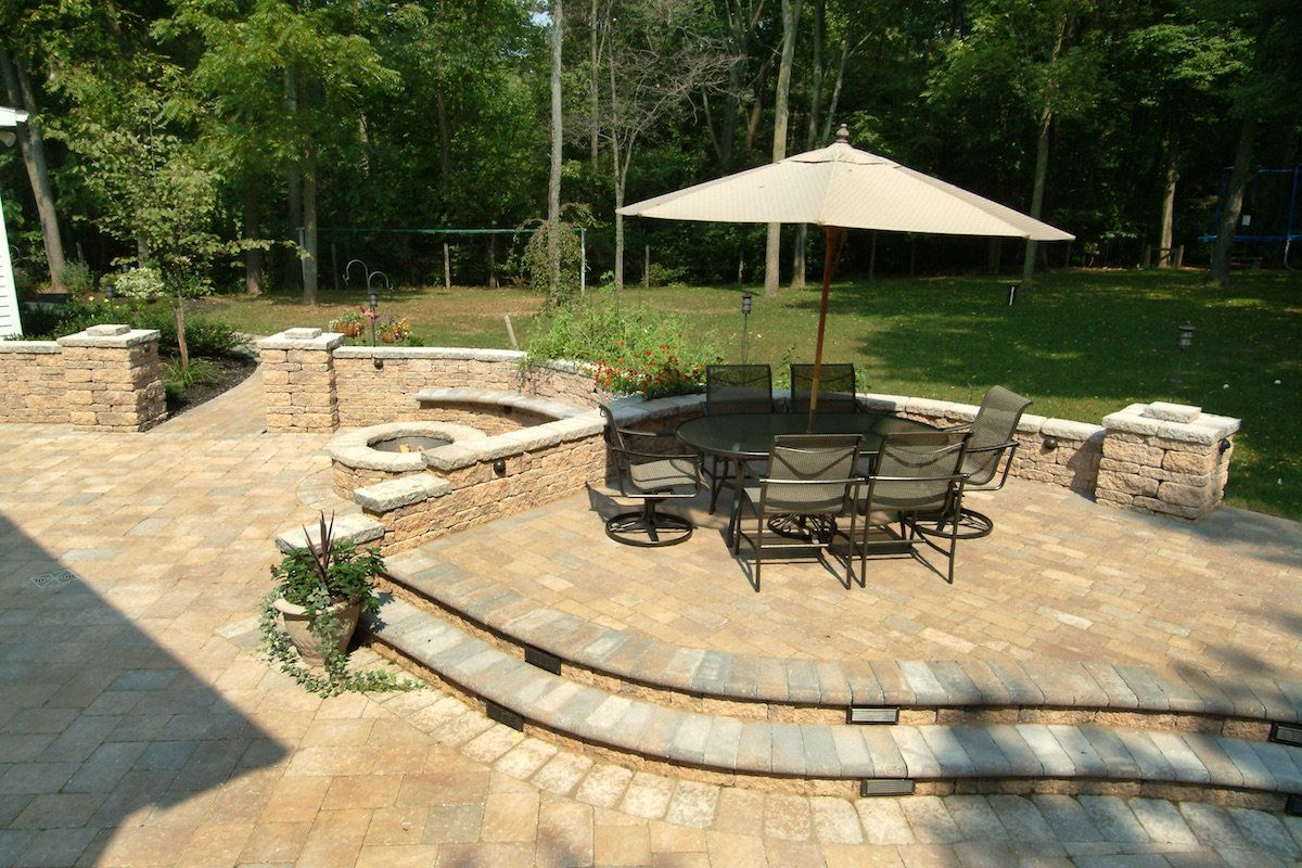 how to level backyard for pavers