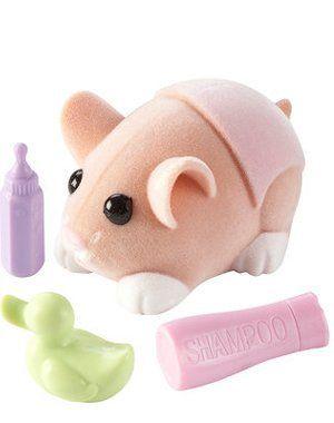 Zhu Zhu Pets Hamster Babies Pumpkin Light Orange Baby With Pink Diaper By Cepia 5 03 Zhu Zhu Pets Toy Hamster Baby In Pumpkin Baby Pigs Baby Hamster