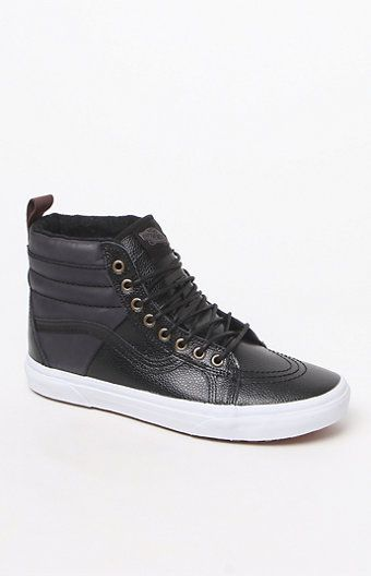 45042602ae Vans Women s Pebble Leather SK8-Hi 46 MTE Sneakers at PacSun.com ...