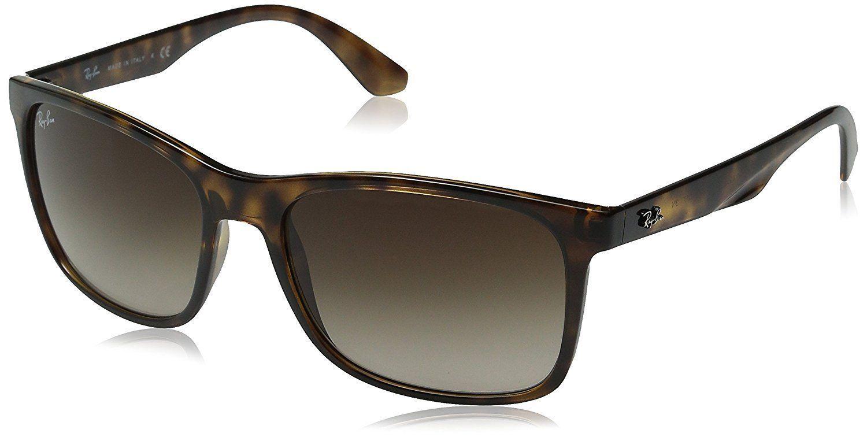 36f75e8da74a6 Brown · Ray-Ban RB4232 710 13 Tortoise Frame Brown Gradient 57mm Lens  Sunglasses