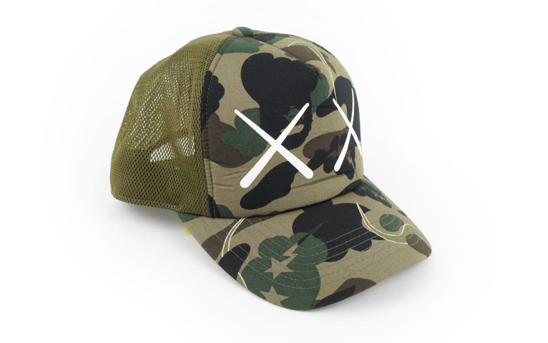 e824d4feb8b The 25 Best Bape Items of All TimeKaws Bendy 1st Camo XX Trucker Hat ...