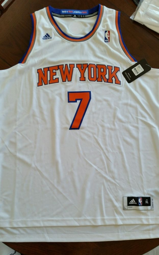 Mens Basketball NY Knicks Adidas NBA Carmelo Anthony  7 Swingman Jersey XL2   adidas   b8a38333d