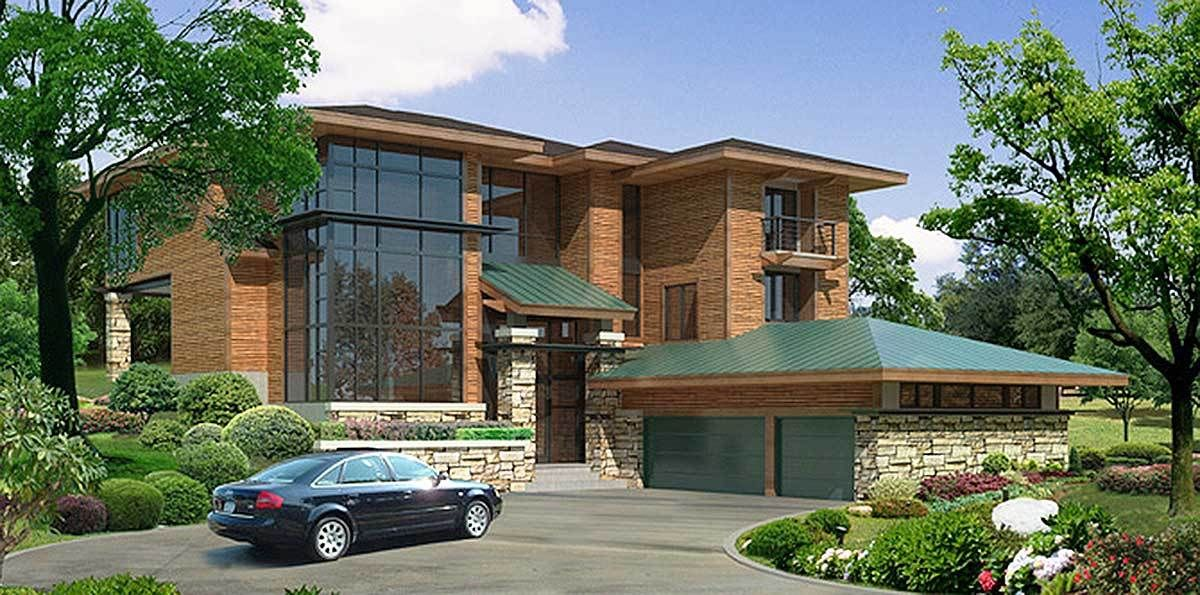 stunning contemporary house plans. Plan 18560WB  Stunning Contemporary House house