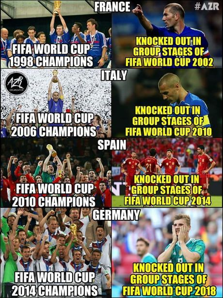 10 Memes After Germany Knocked Out In Group Stages Of World Cup 2018 World Cup World Cup 2018 Soccer Funny