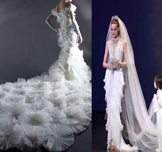 expensive formal dresses | 10 Most Expensive Wedding Dresses - Most ...