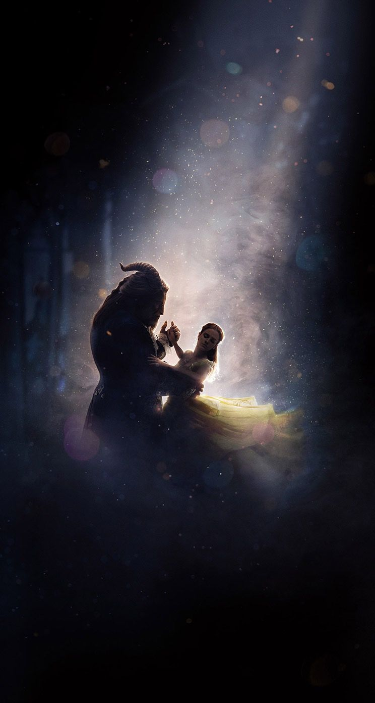 Disney The Beauty And The Beast Wallpaper For Iphone With