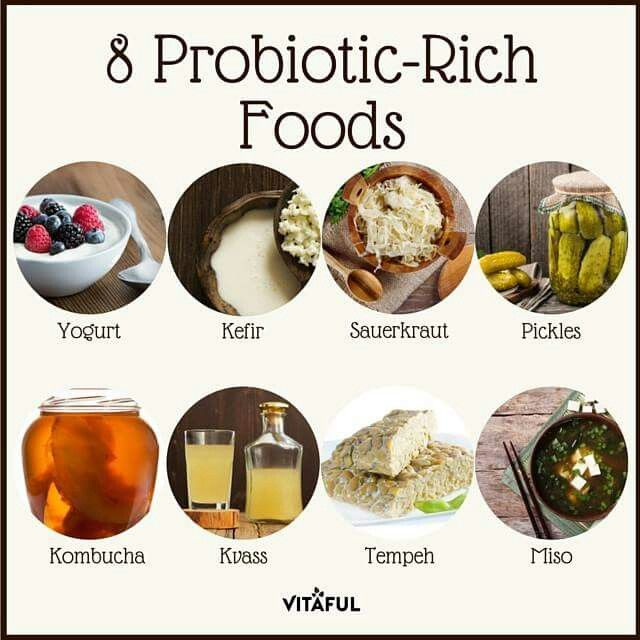 Probiotic Rich Foods Fermented Foods Drinks