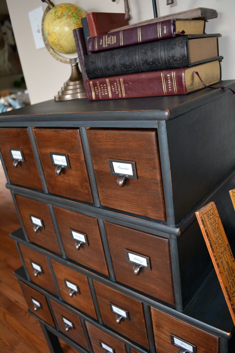 Tutorial Transform A Cd Cabinet Into An Apothecary Style Storage Solution