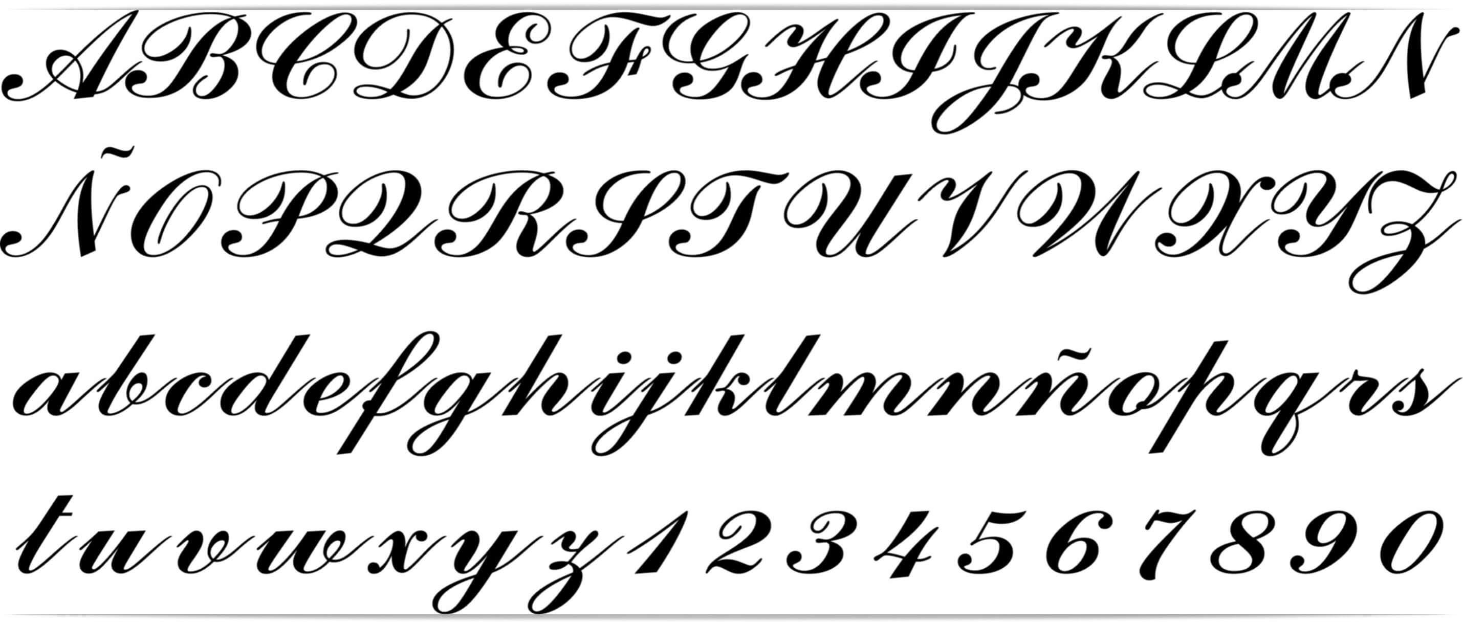 Tipos De Letras Goticas Seonegativocom