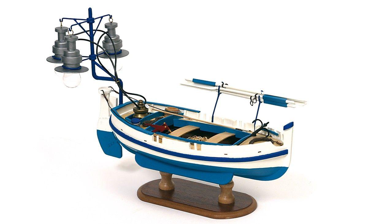 Barca de Luz Calella. Modelismo naval
