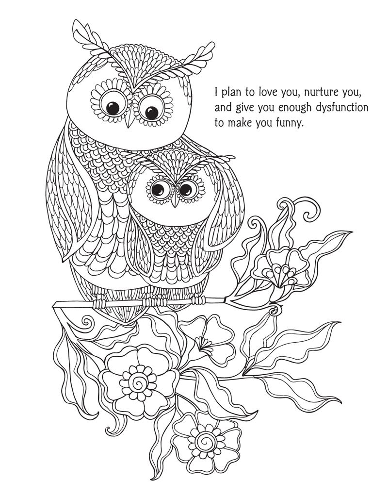Pin On Words Coloring Pages For Adults