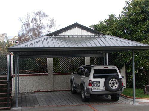 Garage Additional Parking Pad Cover Carport Designs Diy Interior Decor Carport