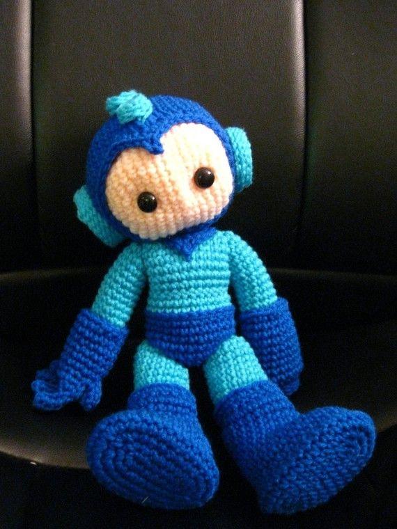 Megaman Crochet Pattern In 2018 Gamer Pinterest Crochet