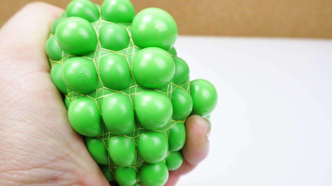 Extrem Anti Stressball selber machen | Squishy Mesh Ball mit Schleim und OK61