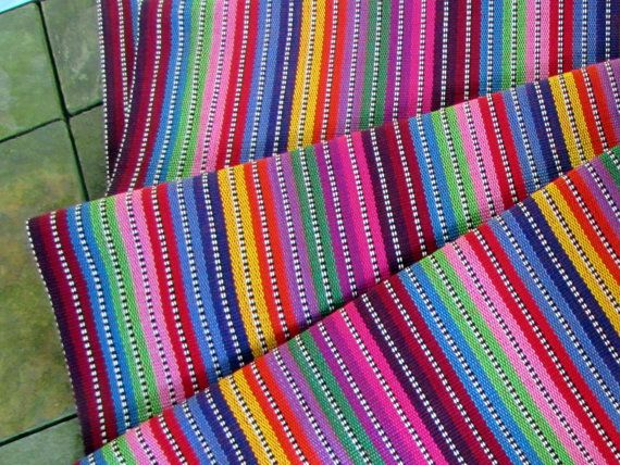 Guatemalan Fabric In Candy Brights Bright Fabrics And Room