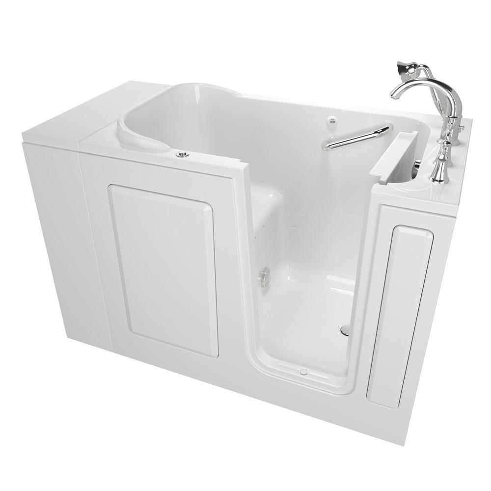 American Standard Exclusive Series 48 in. x 28 in. Walk-In Air Bath ...