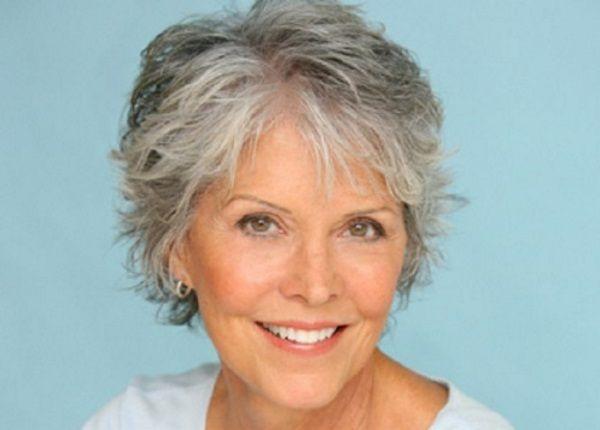Short Haircuts For Women With Gray Hair, Like Thin Sleek
