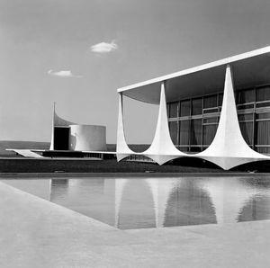 MARCEL GAUTHEROT. Alvorada palace, Brasília, DF. Brazil (circa 1962)