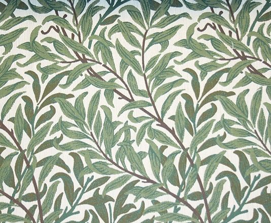 Willow Bough Upholstery Fabric Green Placemats Morris