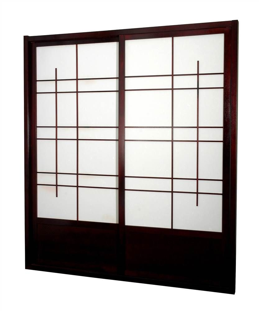sided shoji sliding door kit deco separadores de ambientes