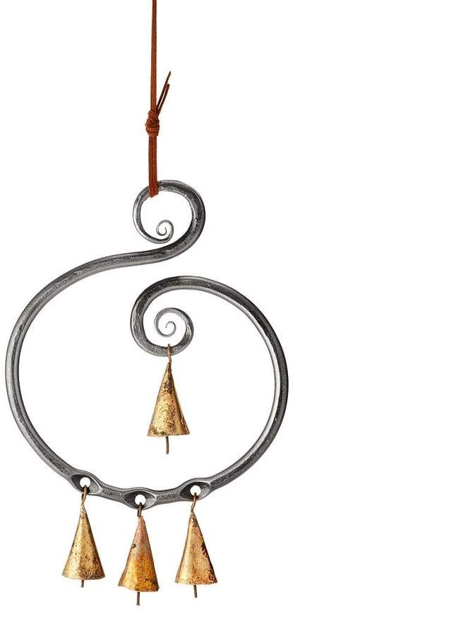 Steel Scroll Wind Chime There Isnt A Universal Symbol For Beauty