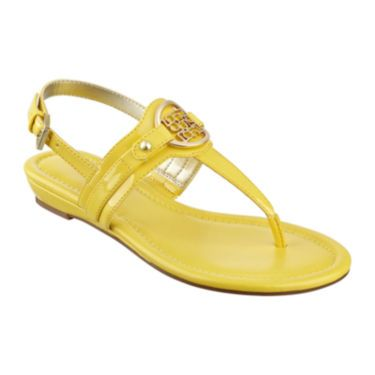 $30 jcp | Liz Claiborne® Lally Strap Thong Sandals