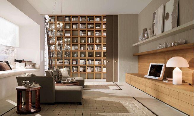 Consejos para decorar el salón Ideas para el hogar Pinterest - bibliotecas modernas en casa