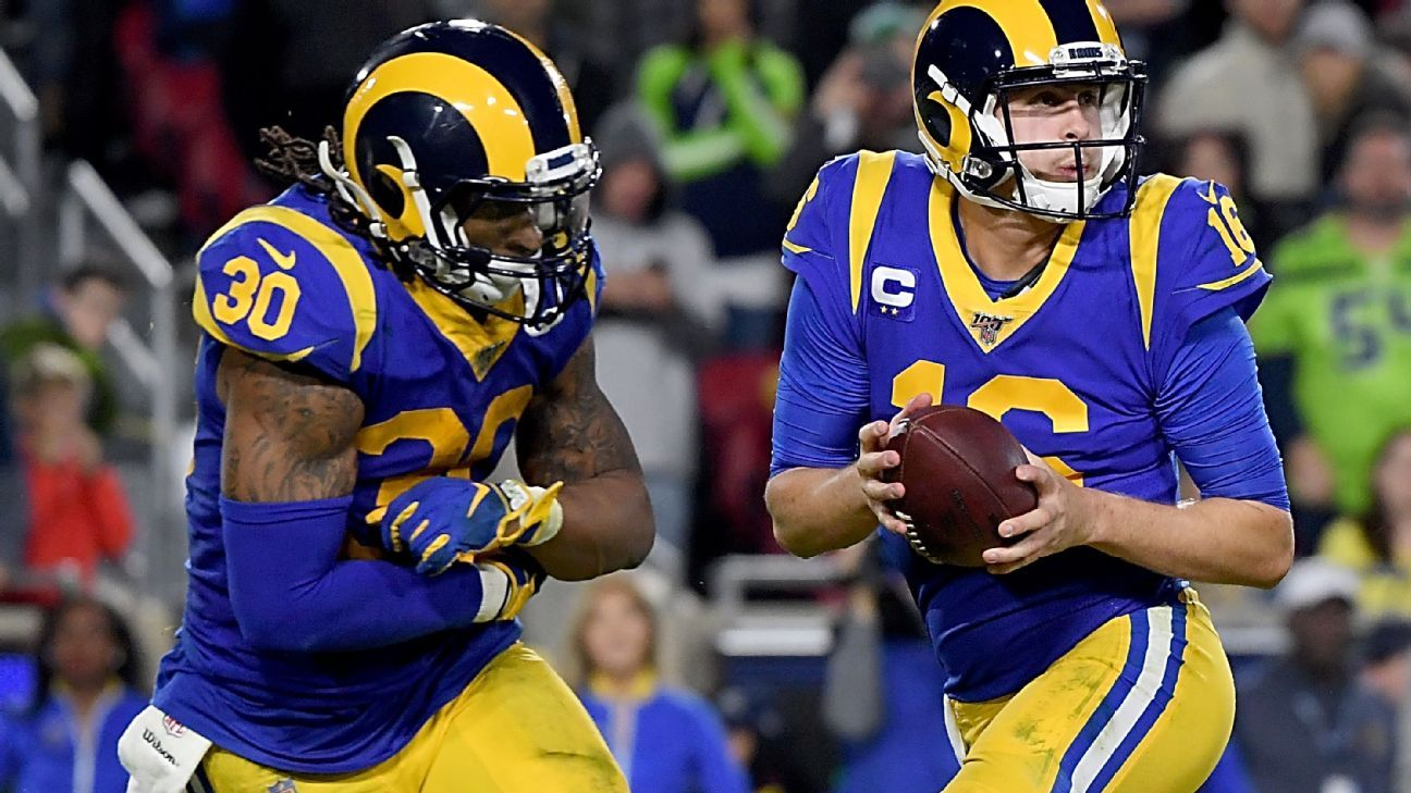 Rams Gm Les Snead Doesn T Regret Record Deals For Jared Goff Todd Gurley Todd Gurley Nfc West Goffs