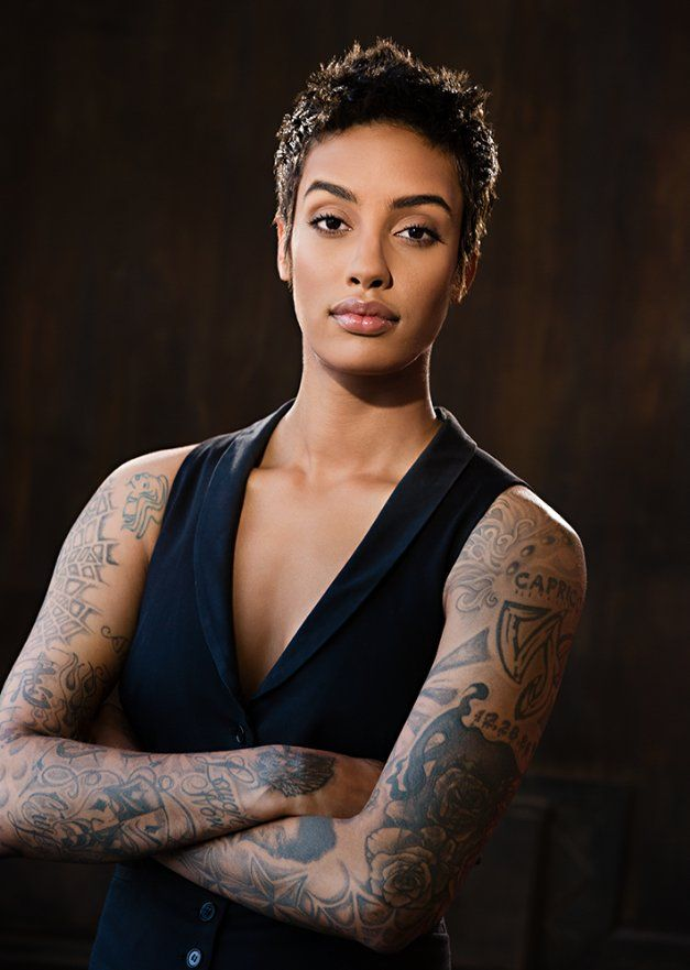 Azmarie Livingston Is An African American Homosexual Fashion Model Actress And Singer